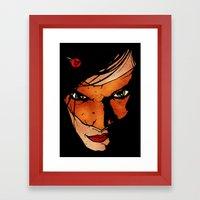 Sister Hazard (Original Version) Framed Art Print