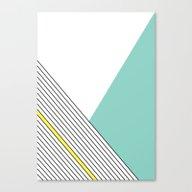 MINIMAL COMPLEXITY Canvas Print