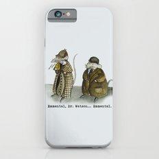 Sherlock Holmes wisdom iPhone 6 Slim Case