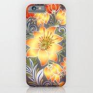 Shabby Flowers #3 iPhone 6 Slim Case