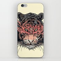 Masked Tiger iPhone & iPod Skin