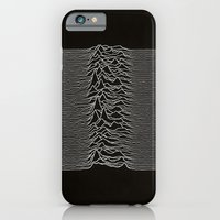iPhone & iPod Case featuring Unknown Pleasures by terciopelogris