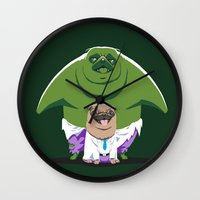 The Incredible Pug Wall Clock