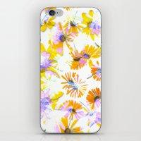 Flowering #3 iPhone & iPod Skin