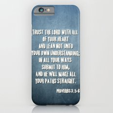 PROVERBS 3:5-6 iPhone 6 Slim Case