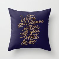 Treasure Throw Pillow