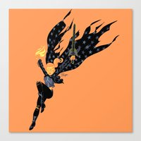 Emberwitch Canvas Print