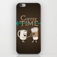 Coffee Time! iPhone & iPod Skin