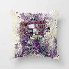 G1 - Optimus Prime Throw Pillow