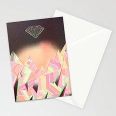 Diamond Sky Stationery Cards