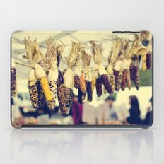 Indian Corn at the Farmers Market iPad Case