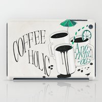 Us And Them: Coffeeholic Anonymous. iPad Case