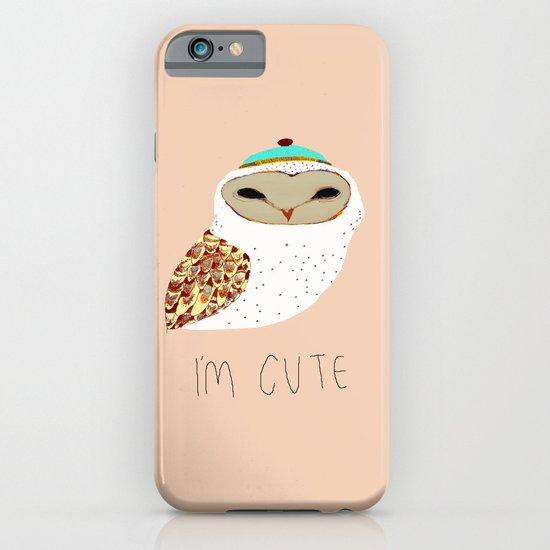 I'M CUTE iPhone & iPod Case