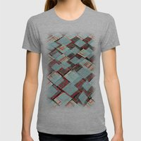 Announcer Womens Fitted Tee Athletic Grey SMALL