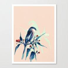 Hashtag Blue Bird Canvas Print