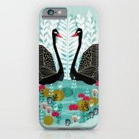 Swans by Andrea Lauren iPhone 6 Slim Case
