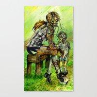 Zombie Soccer Mom Canvas Print