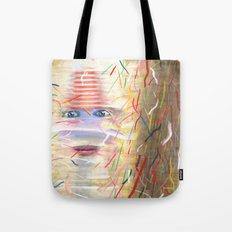 White Dreamer Tote Bag