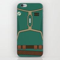 Star Wars Boba Fett Vector Chest iPhone & iPod Skin