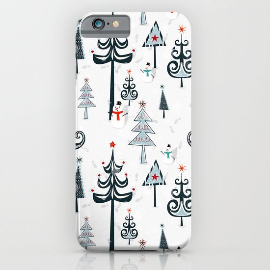 Christmas Tree Forest iPhone & iPod Case