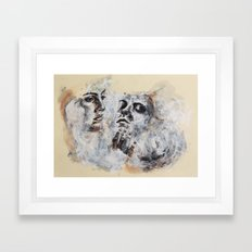 Lover's Gaze Framed Art Print