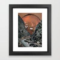 Hot On The Trail Framed Art Print