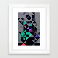 Irony Analyg Framed Art Print
