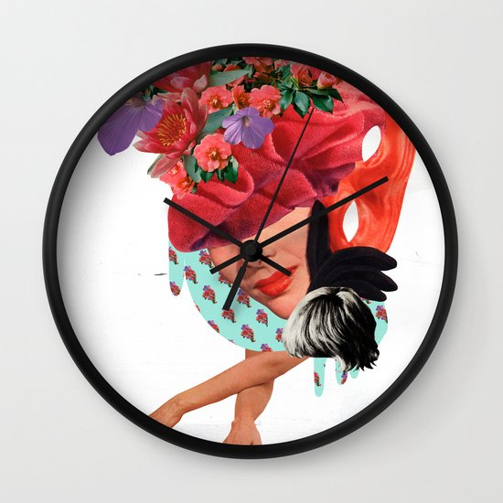 Solid things 8  Wall Clock