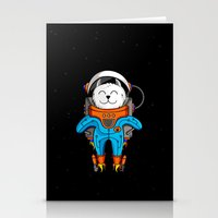 Intercatlactic! To The D… Stationery Cards