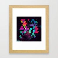 Hyzzy Framed Art Print