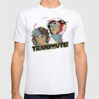 Transmute Mens Fitted Tee Ash Grey SMALL