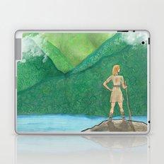 Explorer Girl Laptop & iPad Skin
