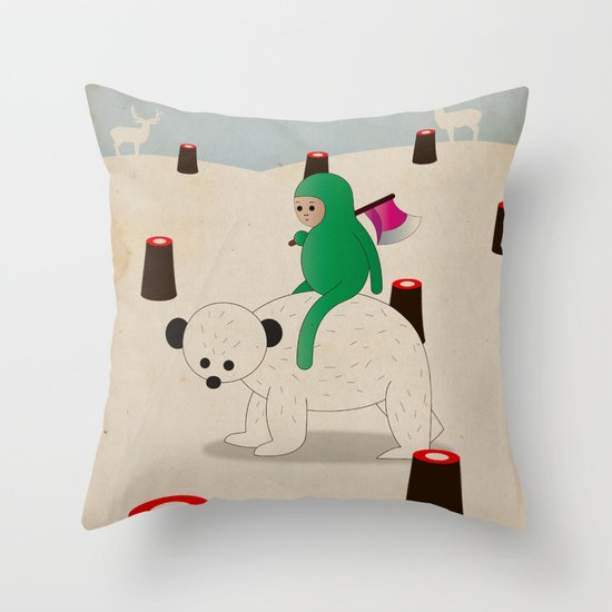 a d o r s o d i u n o r s o Throw Pillow
