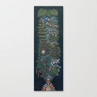 Punctual chignon (Chignon ponctuel) Canvas Print