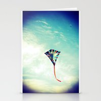 Lost in the Sky Stationery Cards