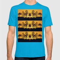 Six Sunsets Mens Fitted Tee Teal SMALL