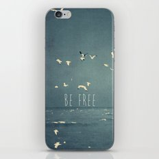 typography iPhone & iPod Skin
