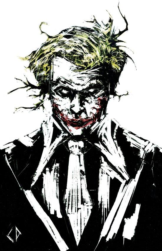 Joker. Art Print