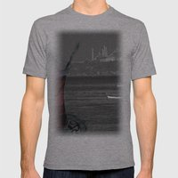 istanbul Mens Fitted Tee Athletic Grey SMALL