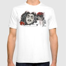 Rufio Mens Fitted Tee White SMALL