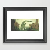 Help Across Framed Art Print