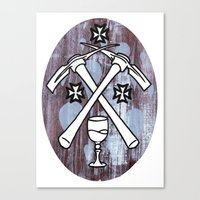 PIck your Axe Canvas Print