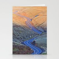 Long And Winding Stationery Cards