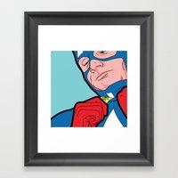 SLOH - Captain Doubt Framed Art Print