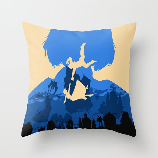 Bioshock Infinite Elizabeth Throw Pillow