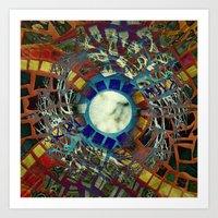 Mosaic Abstract 2 Art Print