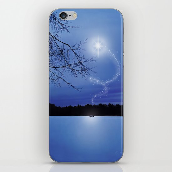 Christmas Eve iPhone & iPod Skin
