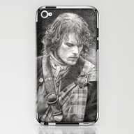 James Fraser iPhone & iPod Skin