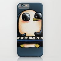 iPhone & iPod Case featuring Penguin With Keyboard by Kristin Frenzel