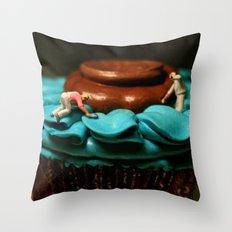 The Cake Decorators Throw Pillow